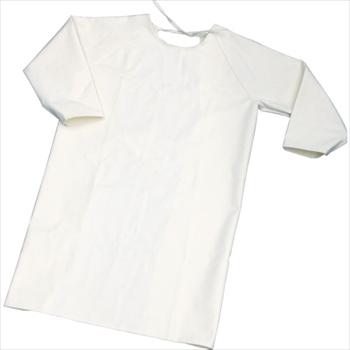 トラスコ中山(株) TRUSCO オレンジブック 難燃加工綿保護具 袖付前掛け Lサイズ [ TBKSMKL ]