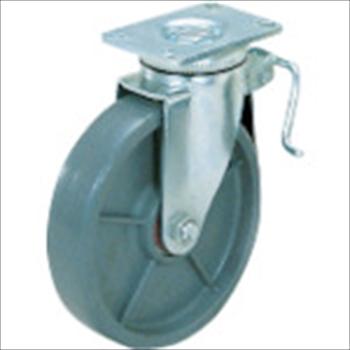 スガツネ工業(株) SUGATSUNE 重量用キャスター径203自在ブレーキ付SE(200ー133ー372 [ SUG8808BPSE ]