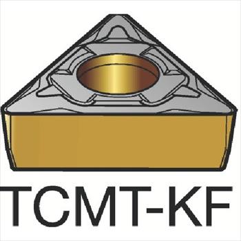 サンドビック(株)コロマントカンパニー SANDVIK サンドビック コロターン107 旋削用ポジ・チップ H13A [ TCMT16T304KF ]【 10個セット 】