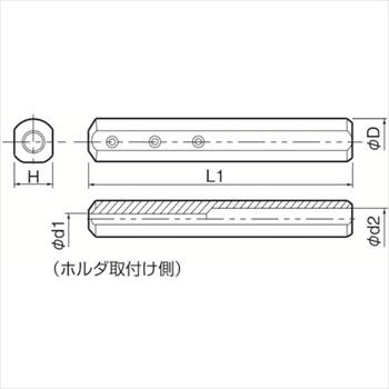京セラ(株) KYOCERA  内径加工用ホルダ オレンジB [ SH2032180 ]