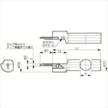 京セラ(株) 京セラ 内径加工用ホルダ [ S25QSVNR12XN ]