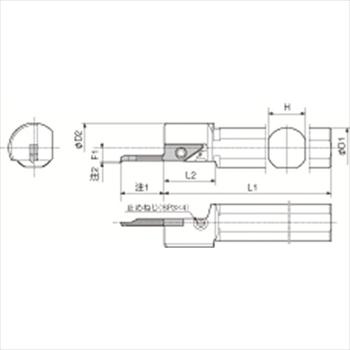 京セラ(株) KYOCERA  内径加工用ホルダ オレンジB [ S12FSVNR12N ]