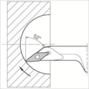 京セラ(株) KYOCERA  内径加工用ホルダ オレンジB [ S12MSVJCR0816A ]