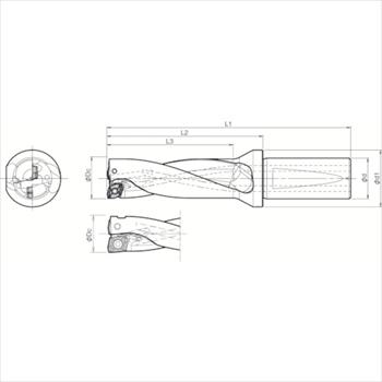 京セラ(株) KYOCERA  ドリル用ホルダ オレンジB [ S20DRX125M303 ]