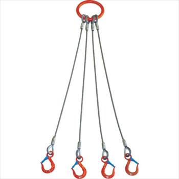 大洋製器工業(株) 大洋 4本吊 ワイヤスリング 3.2t用×2m [ 4WRS3.2TX2 ]