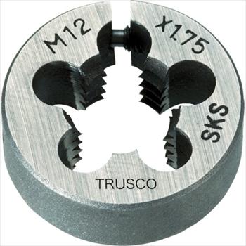 トラスコ中山(株) TRUSCO オレンジブック 丸ダイス 63径 M30×3.5 (SKS) [ T63D30X3.5 ]