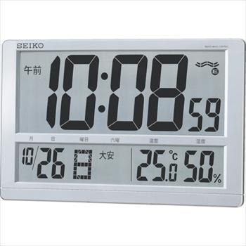 セイコークロック(株) SEIKO 大型液晶電波掛置兼用時計 [ SQ433S ]