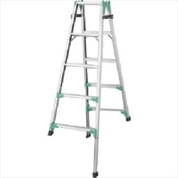 長谷川工業(株) ハセガワ 脚部伸縮式アルミはしご兼用脚立 RYZ型 5段 [ RYZ1.015 ]