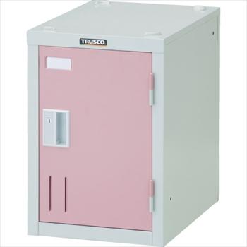 トラスコ中山(株) TRUSCO オレンジブック ミニロッカー 1人用 ピンク シリンダ錠式 [ SHW1AP ]