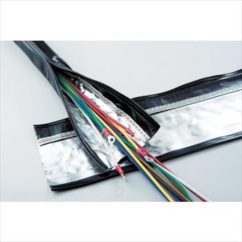 トラスコ中山(株) TRUSCO 電磁波シールド結束チューブ ジッパータイプ 70Φ10m [ SHNF7010 ], ブラックムートン:ccebe4af --- onlinesoft.jp