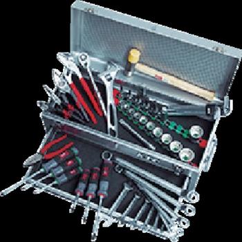 京都機械工具(株) KTC 工具セット(チェストタイプ:一般機械整備向) [ SK4520MXS ]