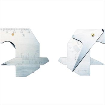 トラスコ中山(株) TRUSCO 溶接ゲージ 寸法測定精度±0.2[ TWG2 ]