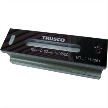 トラスコ中山(株) TRUSCO 平形精密水準器 B級 寸法250 感度0.05 [ TFLB2505 ]