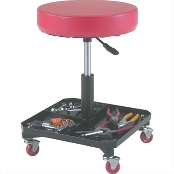 トラスコ中山(株) TRUSCO 工具入れ付作業椅子 Φ370XH440ー555[ TWCS ]