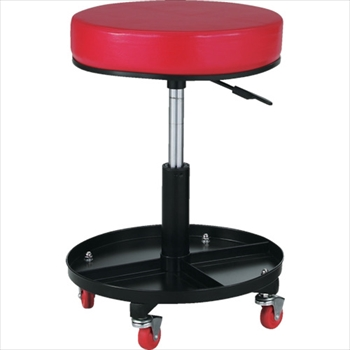 トラスコ中山(株) TRUSCO 工具入れ付作業椅子 Φ370XH440ー555[ TWCSR ]