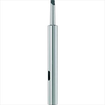 トラスコ中山(株) TRUSCO ドリルソケット焼入研磨品 ロング MT3XMT3 首下200mm [ TDCL33200 ]
