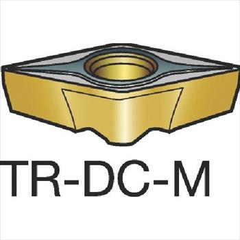 サンドビック(株)コロマントカンパニー SANDVIK サンドビック コロターンTR 旋削用ポジ・チップ 2025[ TRDC1308M ]【 10個セット 】