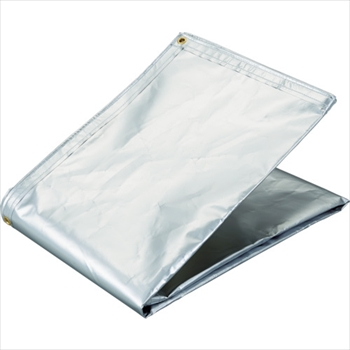 トラスコ中山(株) TRUSCO アルミ蒸着塩ビ遮熱シート 1.8×3.6M[ TRSPC1836 ]