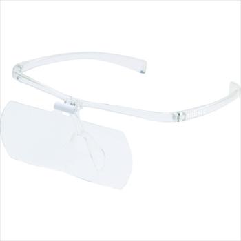 トラスコ中山(株) TRUSCO 双眼メガネルーペ1.6/2/2.3倍セット フレーム透明[ TSMSETTM ]