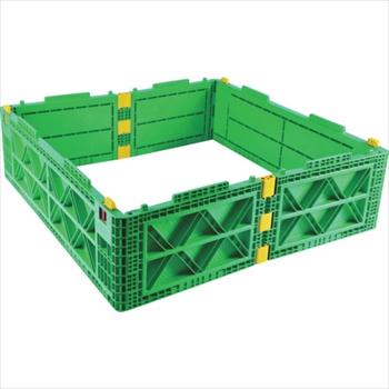 トラスコ中山(株) TRUSCO オレンジブック TMSC型コンテナ用レイヤー 1100X1100 緑 [ TMSCL1111GN ]