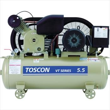 東芝産業機器システム(株) 東芝 タンクマウントシリーズ オイルフリー コンプレッサ(低圧)[ VLT10D2T ]