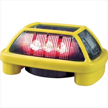 (株)日惠製作所 NIKKEI ニコハザードFAB VK16H型 LED警告灯 赤[ VK16H004F3R ]