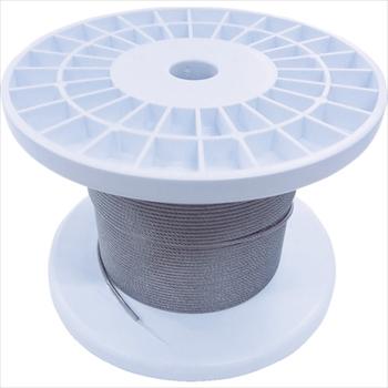 (株)ニッサチェイン ニッサチェイン 透明コーティングワイヤロープ 2.0mm×100m 1巻[ TSY20VCLR ]