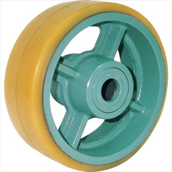 (株)ヨドノ ヨドノ 鋳物重荷重用ウレタン車輪ベアリング入 UHB250X75[ UHB250X75 ]