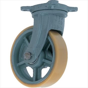 (株)ヨドノ ヨドノ 鋳物重荷重用ウレタン車輪自在車付き UHBーg300X90[ UHBG300X90 ]