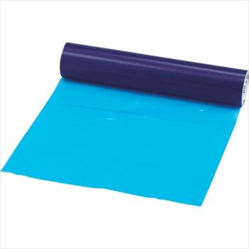 トラスコ中山(株) TRUSCO オレンジブック 表面保護テープ 環境対応タイプ ブルー 幅500mmX長さ100m[ TSPW55B ]