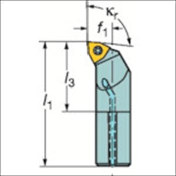 サンドビック(株)コロマントカンパニー SANDVIK サンドビック コロターン111 ポジチップ用ボーリングバイト [ A10KSWLPR04R ]