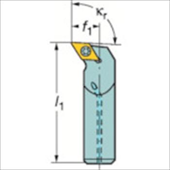サンドビック(株)コロマントカンパニー SANDVIK サンドビック コロターン107 ポジチップ用ボーリングバイト [ A16RSDUCL07R ]