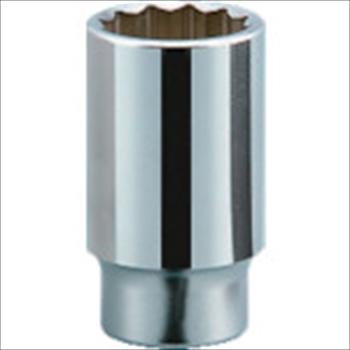 京都機械工具(株) KTC 19.0sq.ディープソケット(十二角) 55mm オレンジB [ B4555 ]