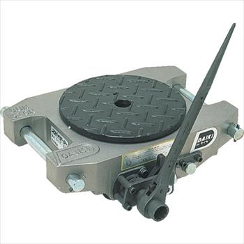 (株)ダイキ ダイキ スピードローラーアルミ自走式ウレタン車輪5ton [ ALDUW5R ]