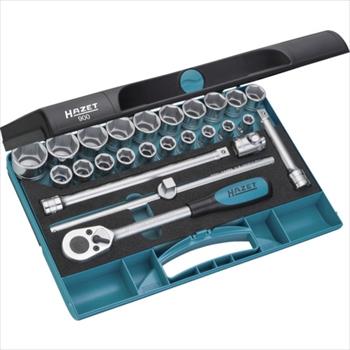 HAZET社 HAZET ソケットレンチセット(6角タイプ・差込角12.7mm) [ 900 ]