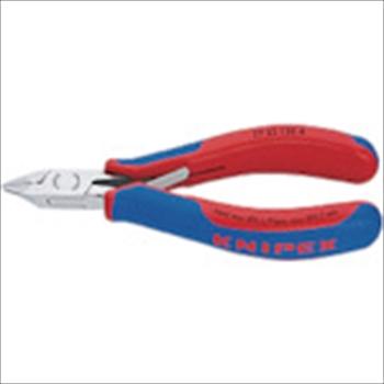 KNIPEX社 7732-120H 超硬刃エレクトロニクスニッパー オレンジB [ 7732120H ]