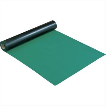 ★直送品・代引不可★ホーザン(株) HOZAN 導電性カラーマット 1×10M グリーン 補強繊維入り [ F79 ]