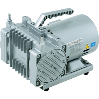 アルバック機工(株) ULVAC 単相100V ダイアフラム型ドライ真空ポンプ [ DA30D ]