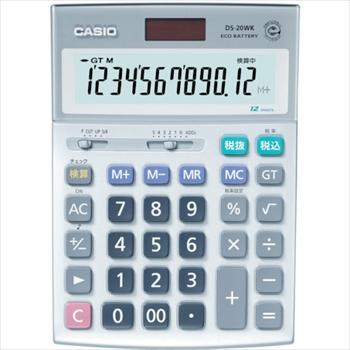 カシオ計算機(株) カシオ 検算電卓(デスクタイプ) オレンジB [ DS20WK ]