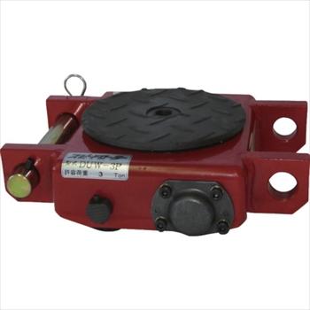 (株)ダイキ ダイキ スピードローラー低床型ウレタン車輪3ton [ DUW3P ]