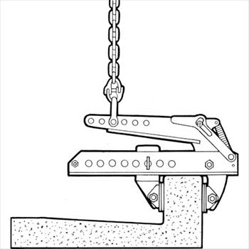 オレンジB イーグル・クランプ(株) イーグル コンクリート製品用つりクランプ EST-250 [ EST250 ]