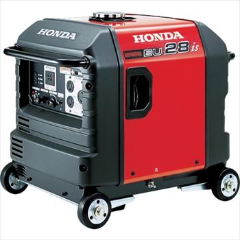 ★直送品・代引不可★ホンダ HONDA 防音型インバーター発電機 2.8kVA(交流/直流)セル付/車輪付 [ EU28IS1JNA3 ]