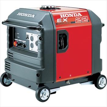 ★直送品・代引不可★ホンダ HONDA 防音型発電機 2.2kVA(交流専用)車輪付 [ EX22K1JNA3 ]