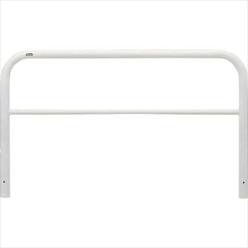 (株)サンポール サンポール アーチ 車止め 固定式(スチール) 白色 [ FAH7U15650W ]