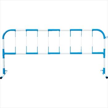 トーグ安全工業(株) トーグ カラーパイプバリケード白反射青 [ CB1 ]