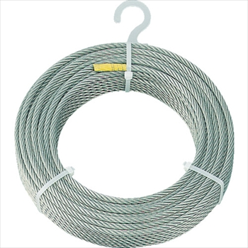 トラスコ中山(株) TRUSCO オレンジブック ステンレスワイヤロープ Φ4.0mmX100m [ CWS4S100 ]