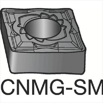 サンドビック(株)コロマントカンパニー SANDVIK サンドビック T-Max P 旋削用ネガ・チップ 1105 [ CNMG120408SM ]【 10個セット 】