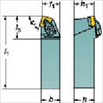 サンドビック(株)コロマントカンパニー SANDVIK サンドビック コロターンRC ネガチップ用シャンクバイト [ DSBNL3232P19 ]