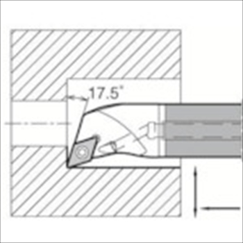 京セラ(株) KYOCERA  内径加工用ホルダ オレンジB [ E12QSDQCR0716A ]