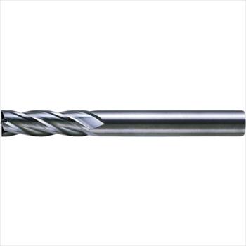 三菱マテリアル(株) MITSUBISHI 三菱K 4枚刃超硬センタカットエンドミル(セミロング刃長) ノンコート 22mm [ C4JCD2200 ]